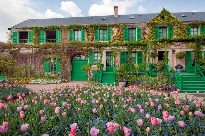 Dans La Maison De Monet Le Peintre Jardinier Mon Opinion